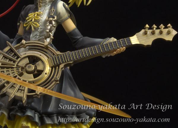 鏡音リン -炉心融解- ギターの弦